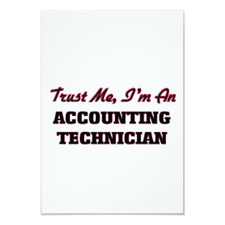 Trust me I'm an Accounting Technician Announcement