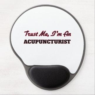 Trust me I'm an Acupuncturist Gel Mouse Mat