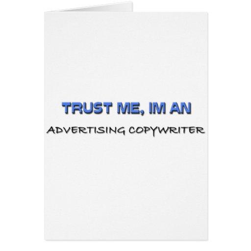 Trust Me I'm an Advertising Copywriter Card
