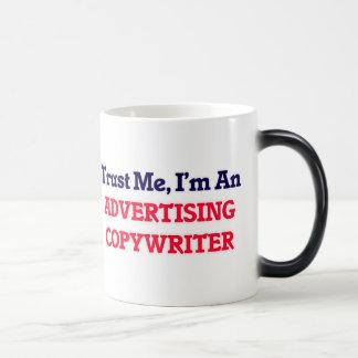 Trust me, I'm an Advertising Copywriter Magic Mug