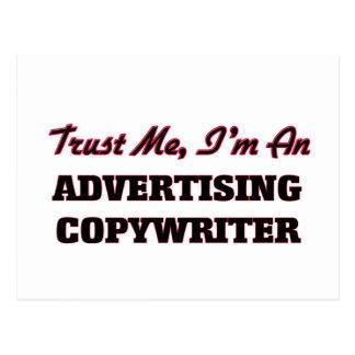 Trust me I'm an Advertising Copywriter Postcards