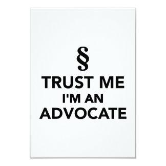 Trust me I'm an advocate Card