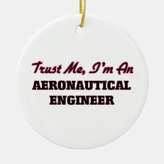 Trust me I'm an Aeronautical Engineer Christmas Tree Ornaments