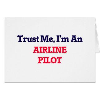 Trust me, I'm an Airline Pilot Card