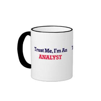 Trust me, I'm an Analyst Ringer Mug