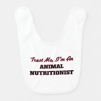 Trust me I'm an Animal Nutritionist Baby Bibs