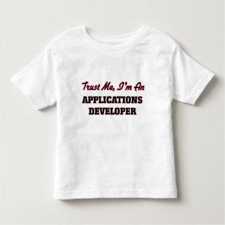 Trust me I'm an Applications Developer T-shirts
