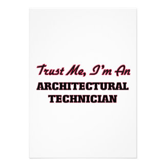 Trust me I'm an Architectural Technician Cards