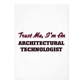 Trust me I'm an Architectural Technologist Cards