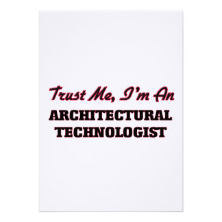 Trust me I'm an Architectural Technologist Card