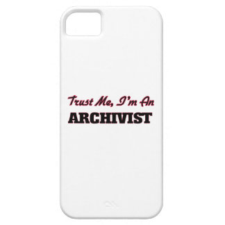 Trust me I'm an Archivist iPhone 5 Cover