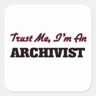 Trust me I'm an Archivist Stickers