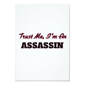 Trust me I'm an Assassin 3.5x5 Paper Invitation Card