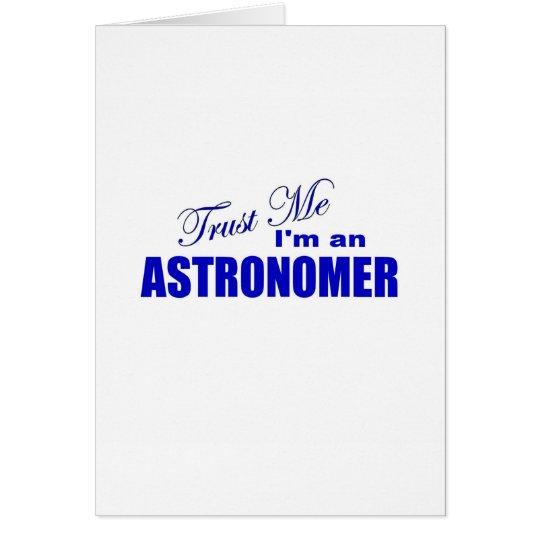 Trust Me I'm an Astronomer Card