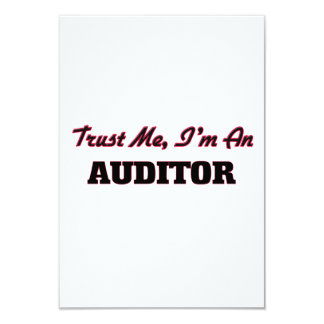 Trust me I'm an Auditor Personalized Invite