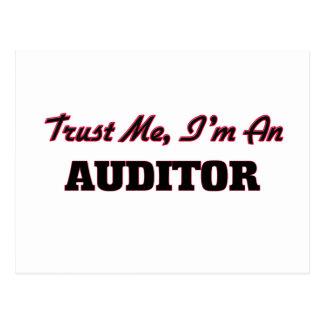 Trust me I'm an Auditor Postcards