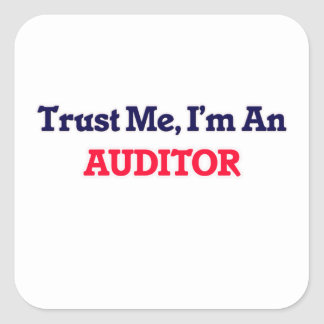 Trust me, I'm an Auditor Square Sticker