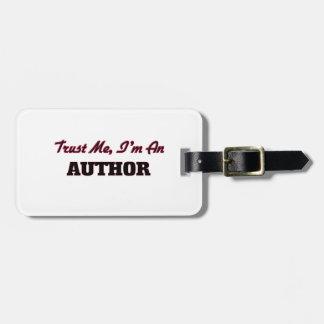 Trust me I'm an Author Bag Tag