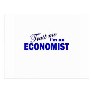 Trust Me I'm an Economist Postcard