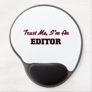Trust me I'm an Editor Gel Mouse Pad