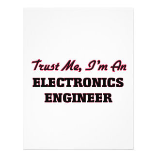 Trust me I'm an Electronics Engineer Full Color Flyer
