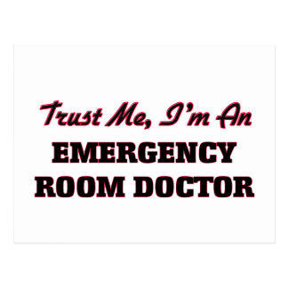 Trust me I'm an Emergency Room Doctor Postcard