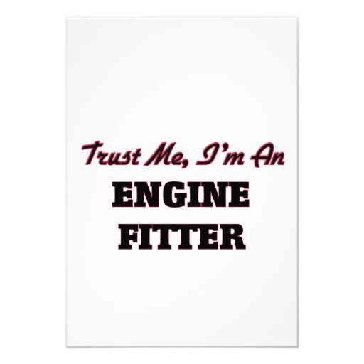 Trust me I'm an Engine Fitter Invitation
