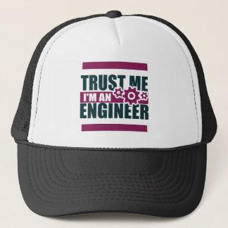 trust me i'm an engineer 3 trucker hat