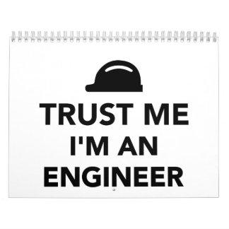Trust me I'm an Engineer Calendar
