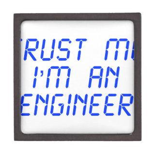 trust-me-Im-an-engineer-LCD-BLUE png Caja De Joyas De Calidad