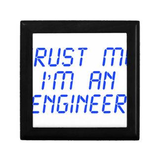 trust-me-Im-an-engineer-LCD-BLUE png Cajas De Regalo