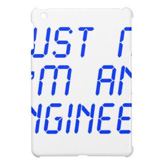 trust-me-Im-an-engineer-LCD-BLUE png iPad Mini Coberturas