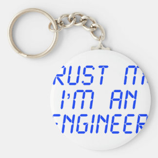 trust-me-Im-an-engineer-LCD-BLUE.png Key Chain