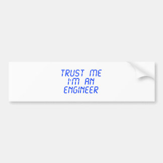trust-me-Im-an-engineer-LCD-BLUE.png Pegatina Para Auto