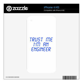 trust-me-Im-an-engineer-LCD-BLUE png Skins Para eliPhone 4S