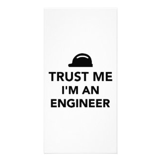 Trust me I'm an Engineer Personalized Photo Card