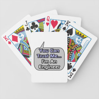 Trust Me .. I'm an Engineer Playing Cards