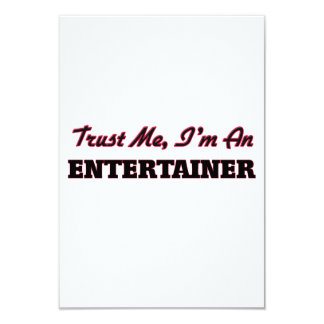 Trust me I'm an Entertainer Personalized Invitation