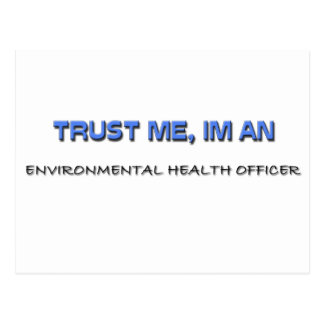 Trust Me I'm an Environmental Health Officer Post Cards