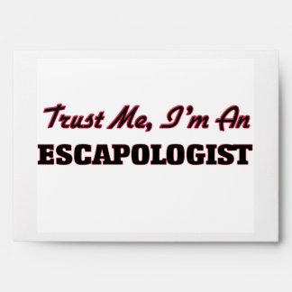 Trust me I'm an Escapologist Envelopes