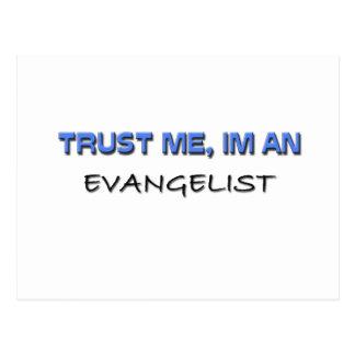 Trust Me I'm an Evangelist Postcard