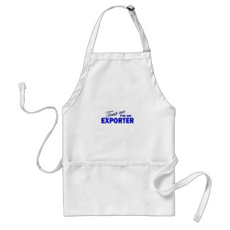Trust Me I'm an Exporter Adult Apron