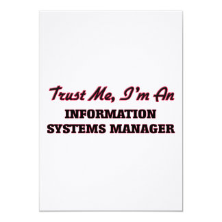 Trust me I'm an Information Systems Manager Announcements