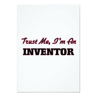 "Trust me I'm an Inventor 5"" X 7"" Invitation Card"