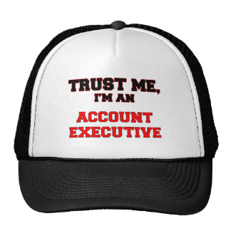Trust Me I'm an My Account Executive Mesh Hats