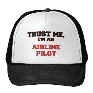 Trust Me I'm an My Airline Pilot Trucker Hat