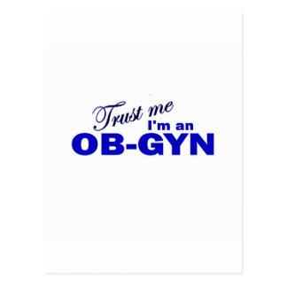 Trust Me I'm an OB-GYN Postcard