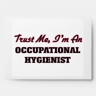 Trust me I'm an Occupational Hygienist Envelope