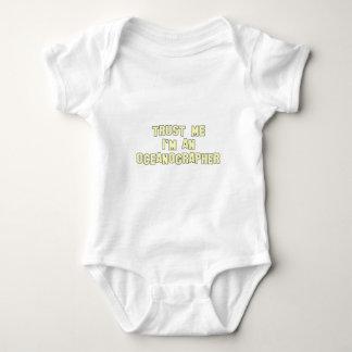 Trust Me I'm an Oceanographer Baby Bodysuit