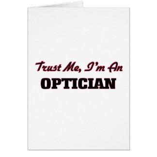 Trust me I'm an Optician Cards